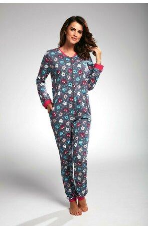 Pijamale tip salopeta dama W107-171