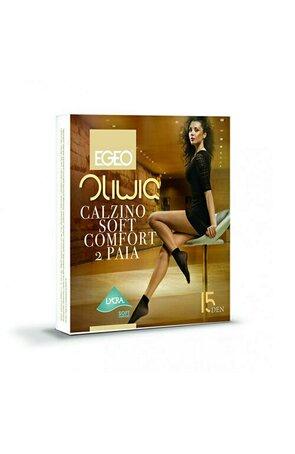 Sosete 1/2 EGEO OLIWIA Soft Comfort 15