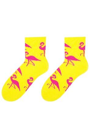 Sosete dama S078041 Flamingo