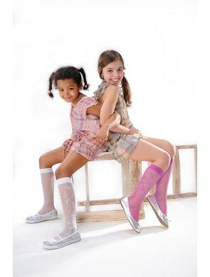 Sosete cu model pentru fetite Lasse