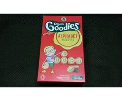 ECO BISCUITI ALFABET GOODIES 5X25G
