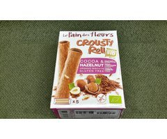 ECO ROLL CROCANT CU CACAO SI ALUNE 125 GR