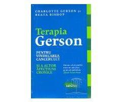 CARTE - TERAPIA GERSON PT. VINDECAREA CANCERULUI