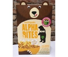 CEREALE ALPHA BITES MULTICEREALE BEAR 375 GR