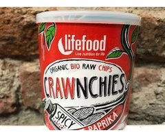 ECO CHIPS RAW CRAWNCHIES CU BOIA IUTE 30 GR