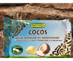 ECO CIOCOLATA ALBA CU COCOS 100 GR