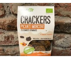 ECO CRACKERS RAW PICANTI MORCOVI 80 GR