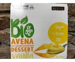ECO DESERT DIN OVAZ CU VANILIE 4X110 GR