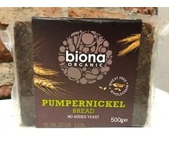 ECO PAINE DE SECARA PUMPERNICKEL 500 GR
