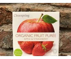 ECO PIREU FRUCTE DIN MERE SI CAPSUNI CLEARSPRING 2X100 GR