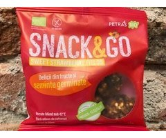 ECO SNACK&GO SWEET STRAWBERRY FIELDS 40 GR