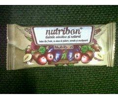 NATURAL BATON NUTRIBON CU FRUCTE SI ALUNE DE PADURE - 40G