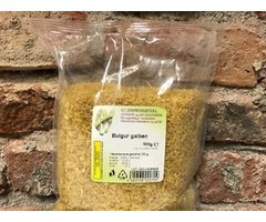 NATURAL BULGUR GALBEN 500 GR