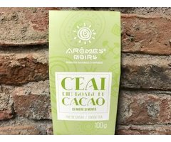 NATURAL CEAI DIN BOABE DE CACAO CU MIERE SI MENTA 100 GR