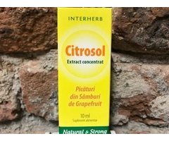 NATURAL CITROSOL EXTRACT CONCENTRAT 10 ML