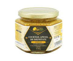 NATURAL COCKTAIL APICOL BARBATI 450GR APILIFE
