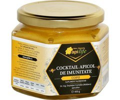 NATURAL COCKTAIL APICOL COPII 450GR APILIFE