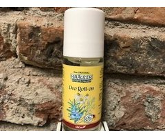 NATURAL DEO ROLL CU MUSETEL SI ROZMARIN BIO 50 ML