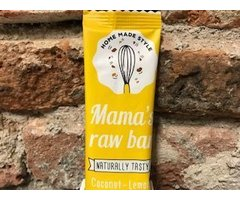 NATURAL MAMA'S RAW BAR CU COCOS SI LAMAIE 30 GR