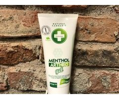 NATURAL MENTHOL ARTHRO GEL CU CANEPA BIO 200 ML