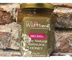NATURAL MIERE CRUDA DE MANUKA MG300+ 340 GR