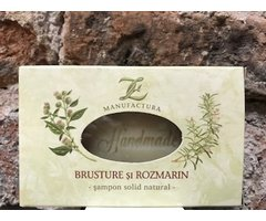 NATURAL SAMPON SOLID DE BRUSTURE SI ROZMARIN 100 GR