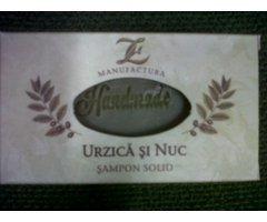 NATURAL SAMPON SOLID URZICA SI NUC 100G