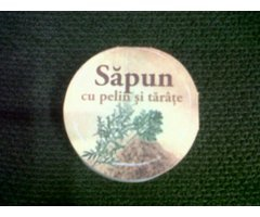 NATURAL SAPUN CU PELIN SI TARATE - 60G
