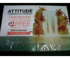 SAPUN SOLID HIDRATANT 2*120G ATTITUDE