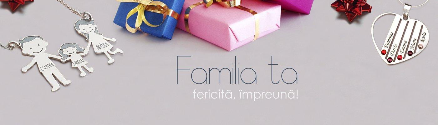 Bijuterii personalizate Familie