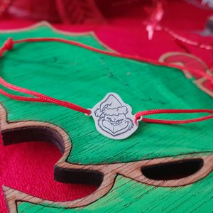 Bratara Argint 925 - Grinch