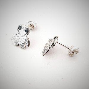Cercei Broasca Testoasa - Argint 925