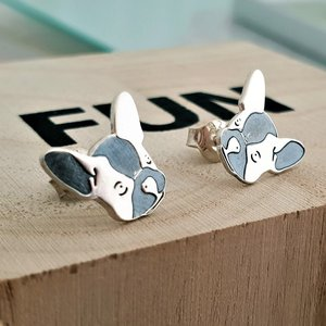 Cercei Bulldog - Argint 925