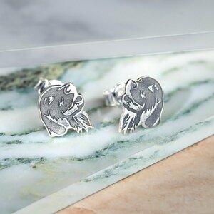 Cercei Labrador - Argint 925, surub
