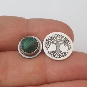 Cercei personalizati - Feeling Nature Connected - Colectia Moody - Argint 925