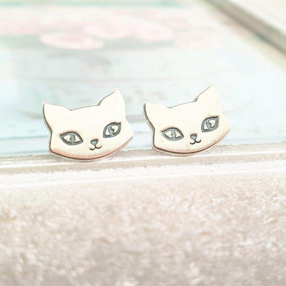Cercei Pisica - Argint 925