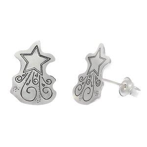 Cercei Argint 925 - Steaua sus rasare
