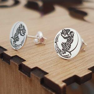 Cercei zodie - Varsator - Argint 925