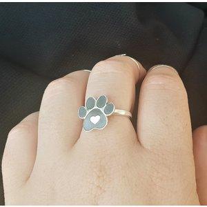 Inel personalizat - Labuta - Argint 925