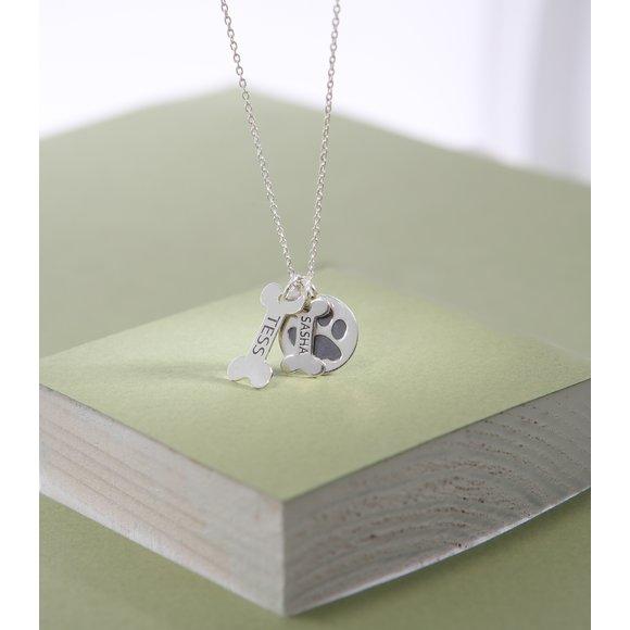 Lantisor Oase si Labuta - Argint 925