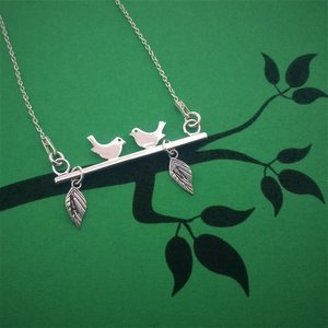 Lantisor Porumbei - Argint 925