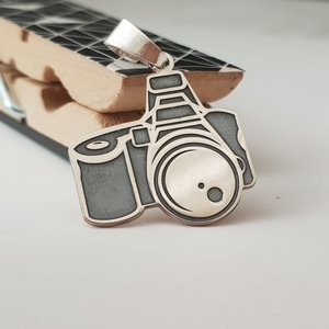 Pandantiv Aparat foto - Argint 925
