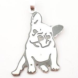 Pandantiv Bulldog Francez - Argint 925