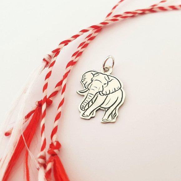 Pandantiv Elefant - Argint 925