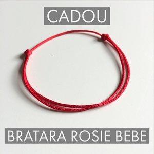 Set Cadou Botez - Banut Marturie - Lantisor cu Pandantiv Picioruse - Bratara placuta si piele - snur deochi bebe - Argint 925