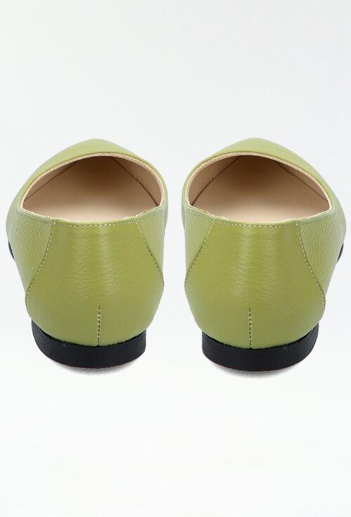 Balerini kaki din piele naturala