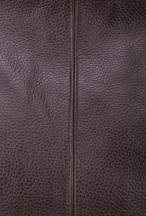Geanta maro inchis din piele naturala texturata