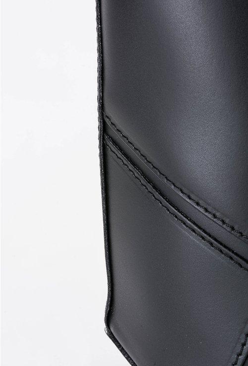 Geanta neagra din piele naturala Lennie