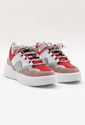 Pantofi casual din piele naturala in diferite nuante