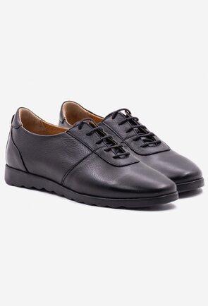 Pantofi casual negru din piele